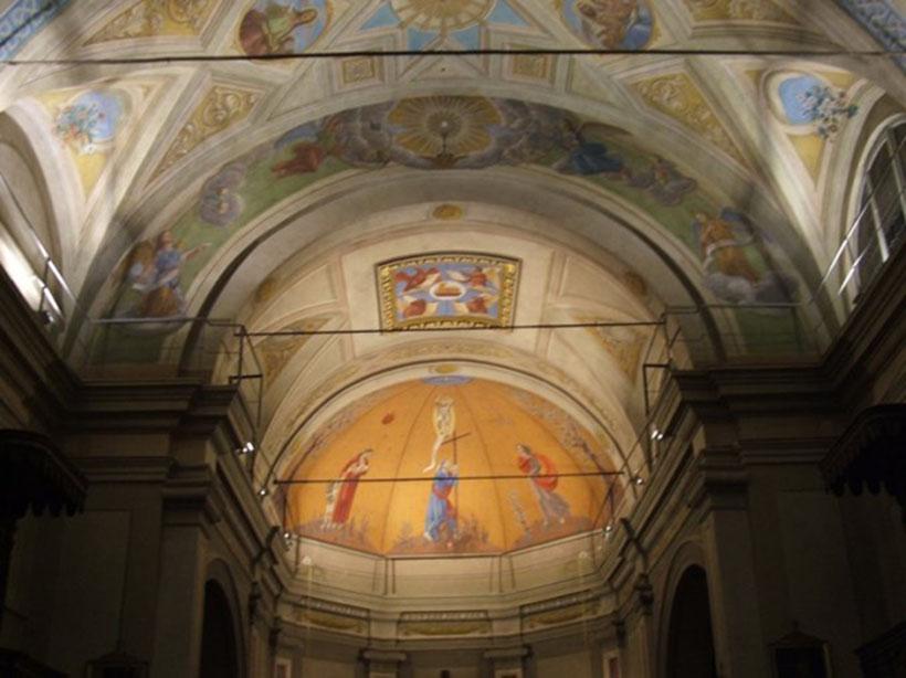 progetto illuminazione chiesa stefano pisani