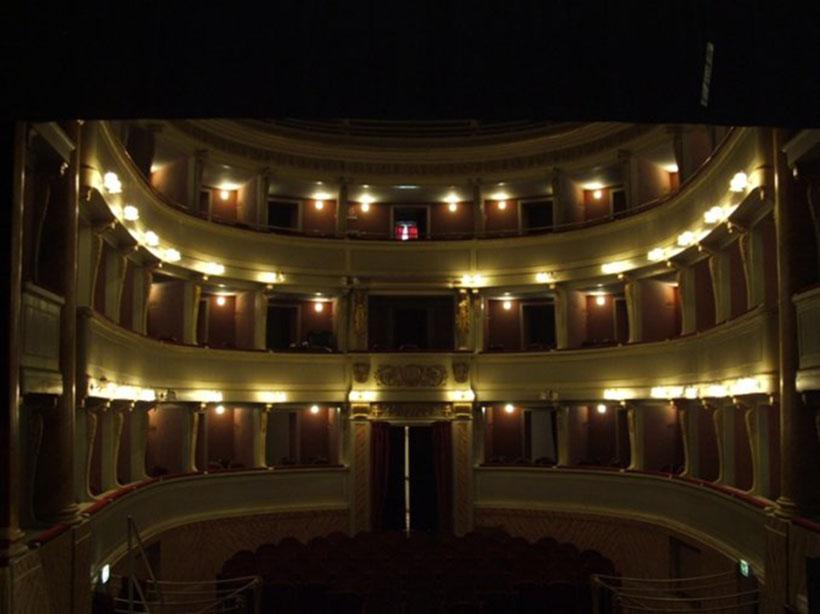 progetto illuminazione teatro stefano pisani